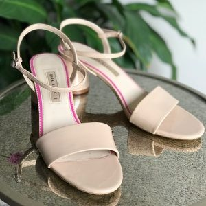 ZARA Nude strappy heels